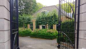 Entree Villa TrösT